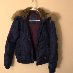 American Eagle light weight puffer coat